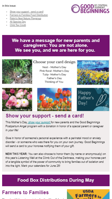 May Family Newsletter