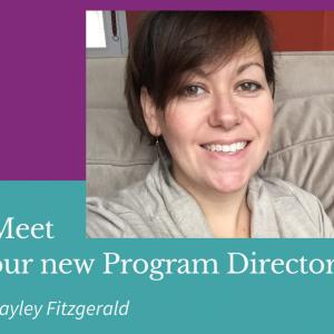 Meet our new Program Director
