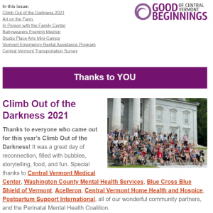 July 2021 Family Newsletter